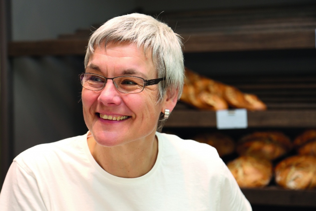 Bäckermeisterin Christa Lutum - Portrait