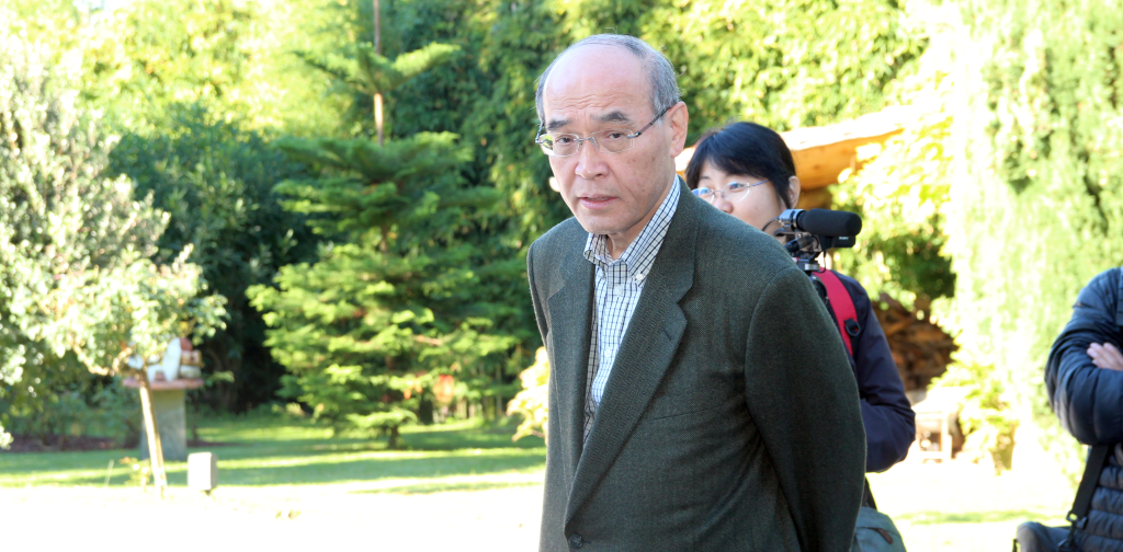 Gouverneur Masanori Tanimoto.